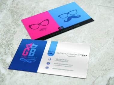 Logo & Business Card Design for Glee Basket