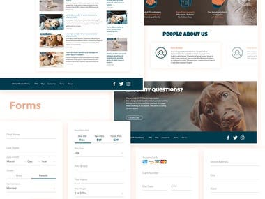 GetESA - Responsive Website + Admin Panel
