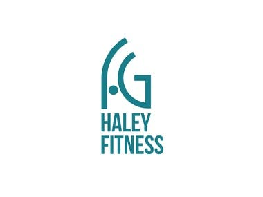 Animated Logo and Logo Design for Haley Fitness
