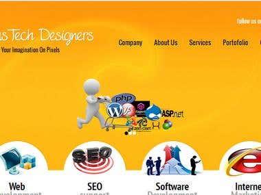 Web Designer /SEO/Wordpress/Joomla/WebDeveopement