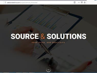 Source & Solution