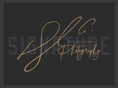 Signature Logo Design (Awarded)
