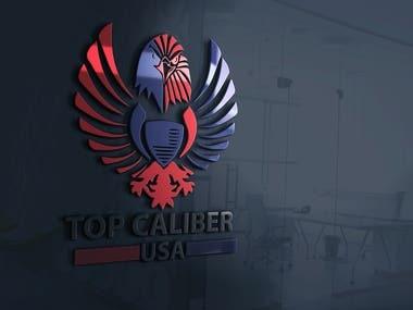 TOP CALIBER USA LOGO