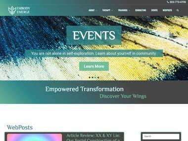 Embody Emerge | Website Design & Development