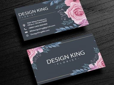 Visiting Card Design for Business