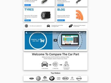 Compare Car Part Price from different marketplaces