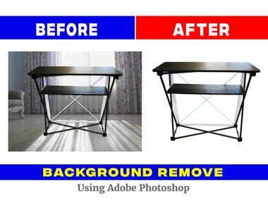 Product background remove