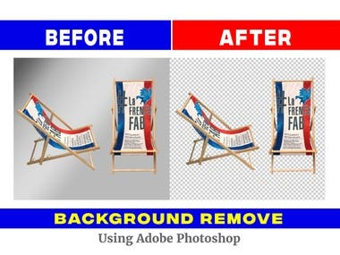 Background Remove in Photoshop