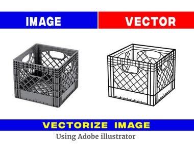 Image To Vector Icon Design