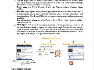 Importance of Mobile Application in Human Lives