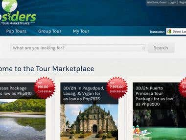 Tripsiders Tour Marketplace