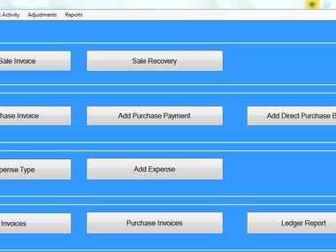 WholeSales Retail Store System (C#, SQL Server 2008, EF, Win