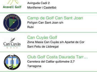 GolfCat Lite Mobile App