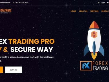 Trading Webstite