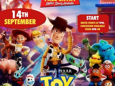 Poster For ToyStory4