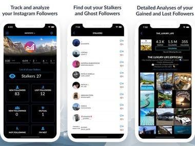 iOS app bug fixing - Instagram private API