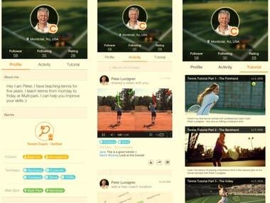 Online Coaching App