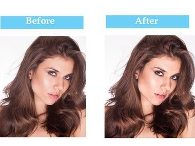 Shine&Texture in Hair