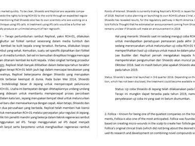 Medical article translations