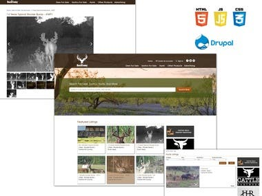Drupal Website Development (E-Commerce)