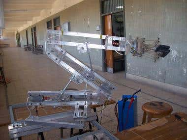 5 degree robot arm
