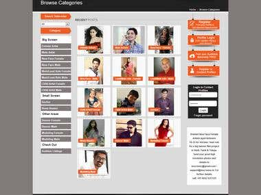 Inscreens.in - Directory of Movie Artists from India