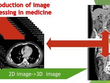 2D image-> 3D image