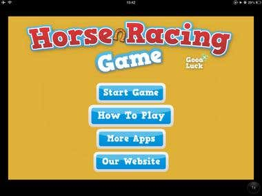 Horse Racing Cocos 2D Game