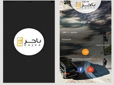 Najez - Cab Booking App