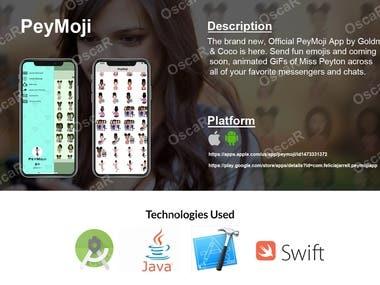 PeyMoji - Keyboard emoji app.