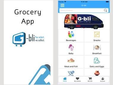 G-BLI - Online Supermarket Shopping App