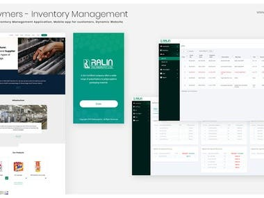 Inventory Management Solution - Mobile + Web