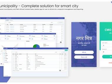 Smart Municipality - (Web + Mobile)