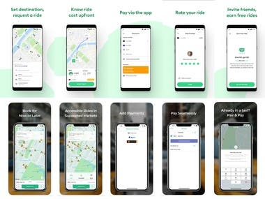 Bolt (formerly Taxify) and Curb - The Taxi App