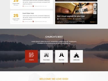 Contemporary Church Homepage