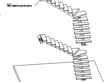 Single run Stairs - design and detailing