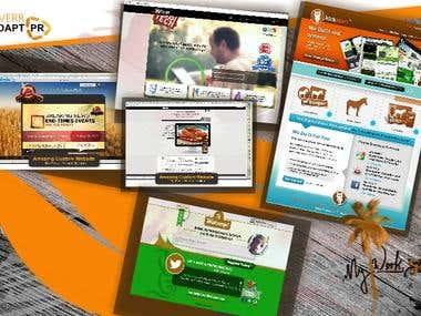 Website UI/UX designing