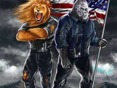 Tactical illustration