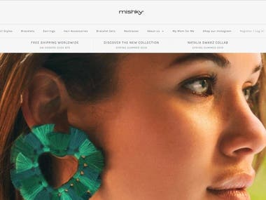 mishky.com Website.