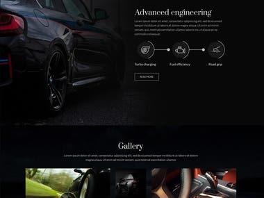 Auto Company Design