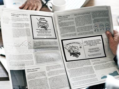 A Series of Print Advertisements.