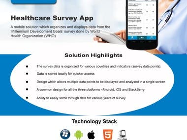 Healthcare Survey App