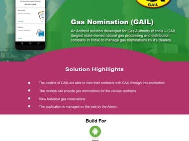 Gas Nomination (GAIL)