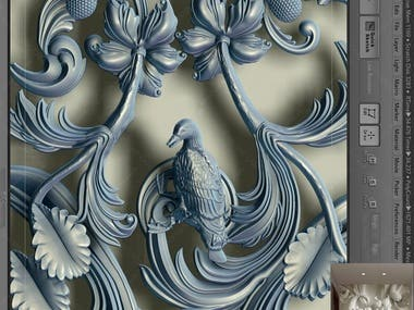 3D Logo or Wall Panel