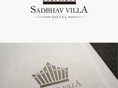 Logo Design For Sadbhav Villa