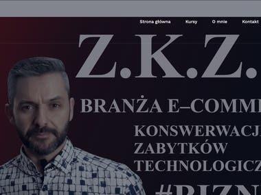 Website for Mr. Arkadiusz Trajdos