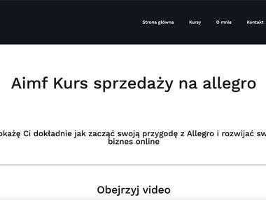 Website for Mr. Arkadiusz Trajdos (2)