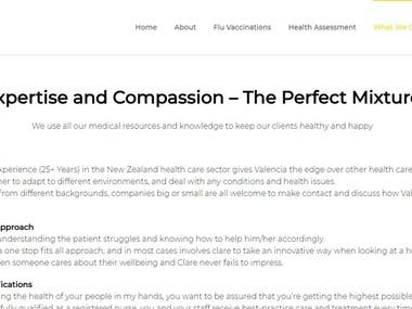 Content Writing - Health Care