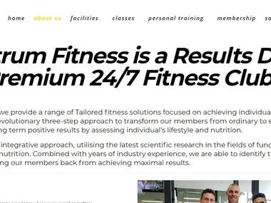 Content Writing - Fitness