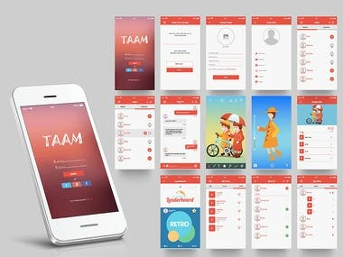 Taam - Video Creation & Chat App